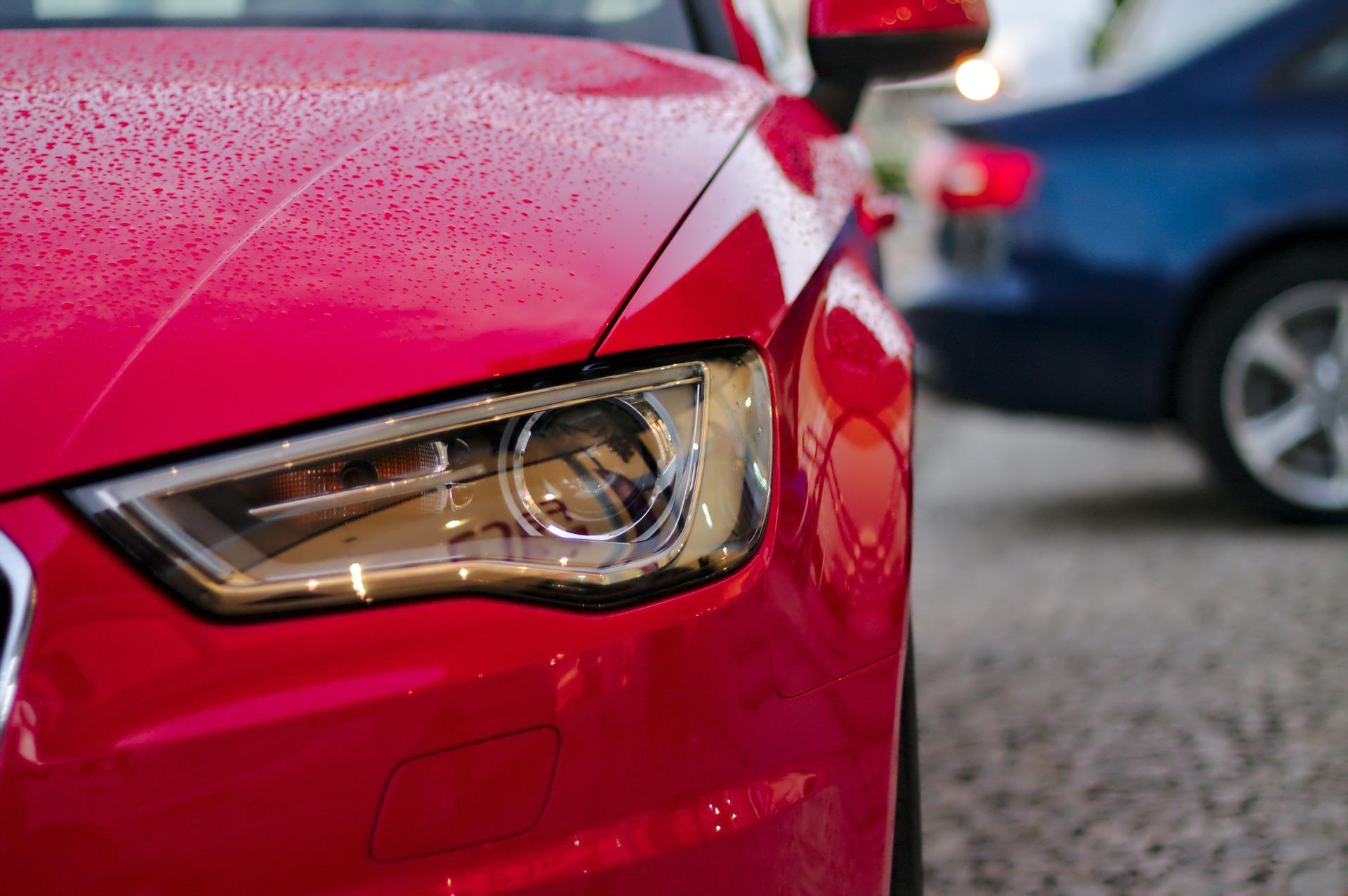 sydney-red-car-headlight