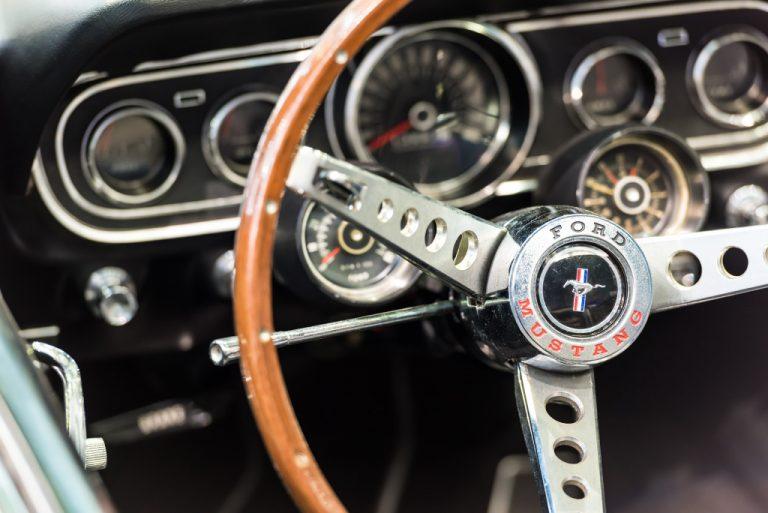 luxury vintage car